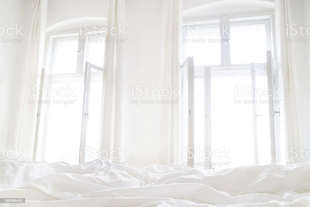 Bright Good morning stock photo