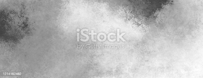 534130204 istock photo Bright grunge overlay background  in black and white tones. Monochrome dynamic stains of paint on paper. Contemporary sketch 1214162462