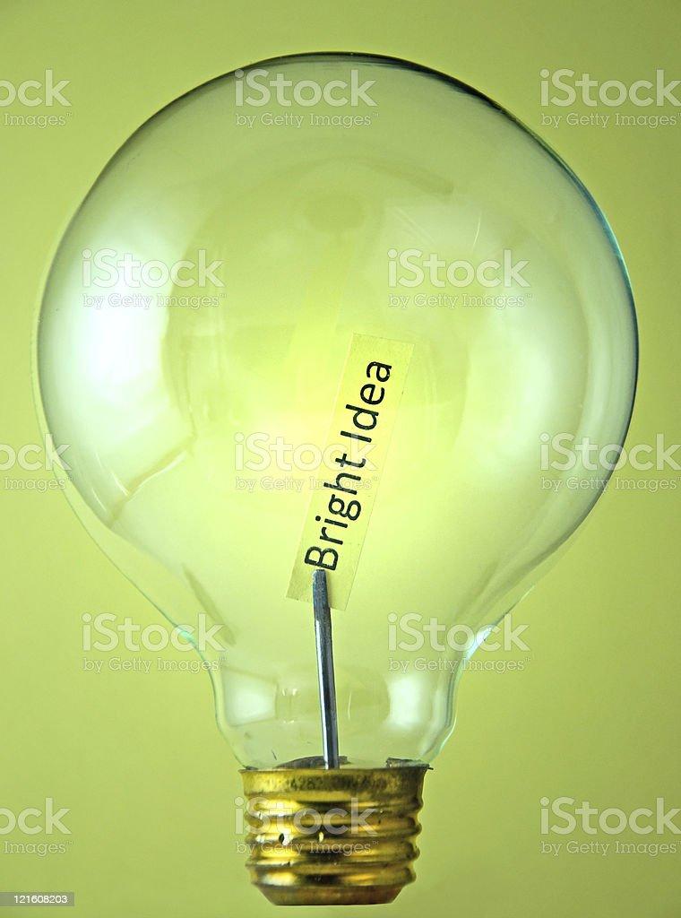 Bright Idea! royalty-free stock photo