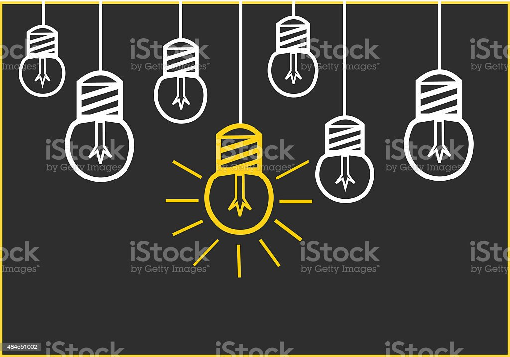 Bright Ideas stock photo