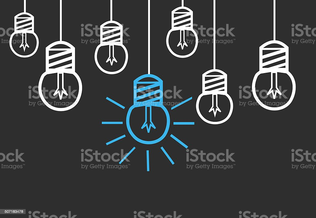 Bright Ideas royalty-free stock photo
