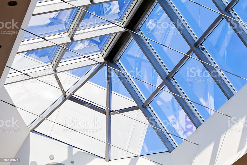 bright interior ceilings Стоковые фото Стоковая фотография