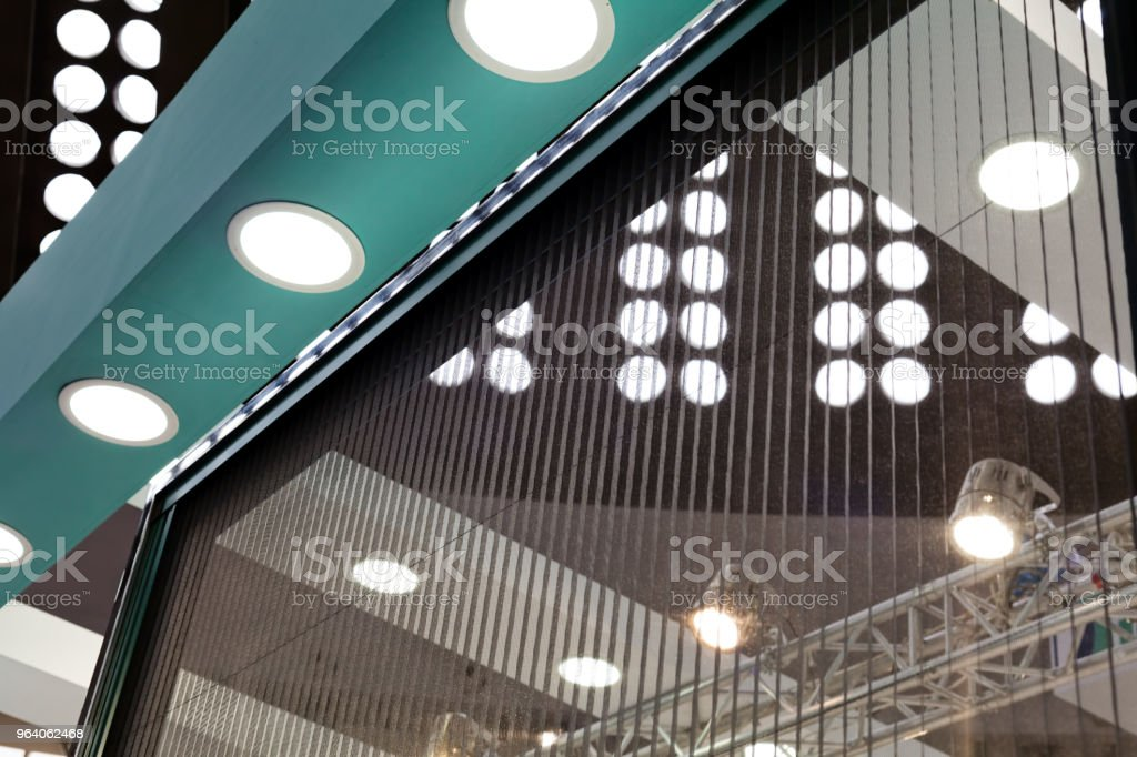 bright interior ceilings - Royalty-free Architecture Stock Photo