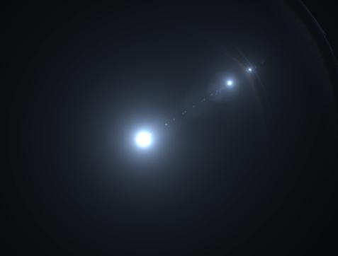 868064724 istock photo Bright lens flare 1143776263