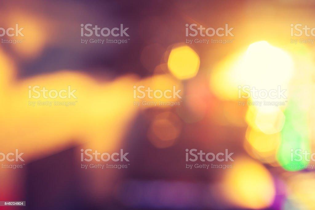 Bright Lights Background stock photo