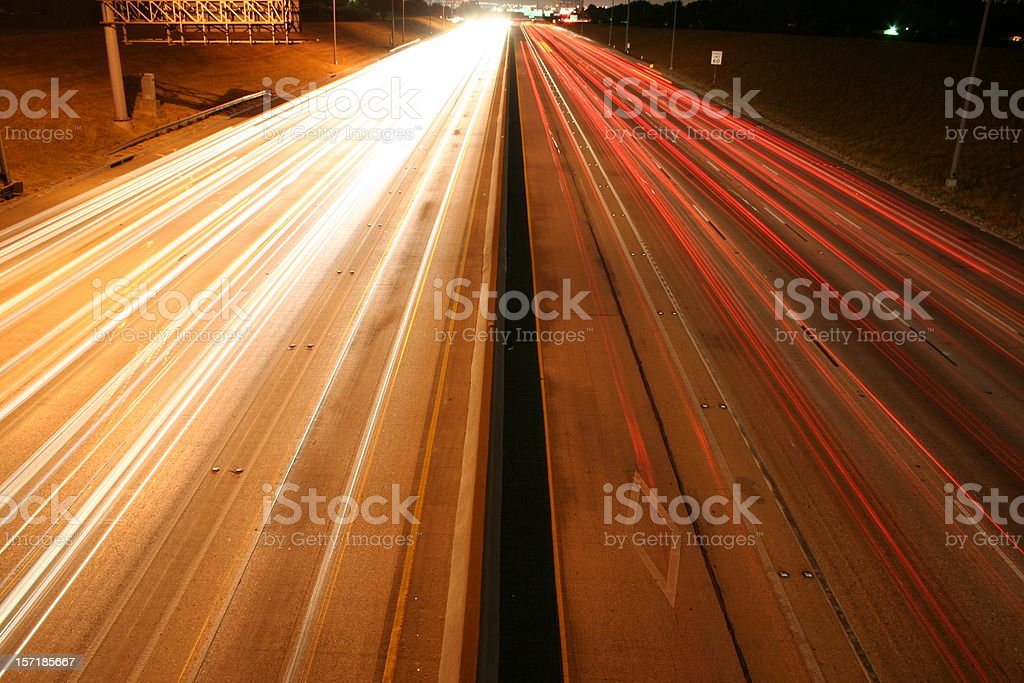 Bright Lights in the City royalty-free stock photo