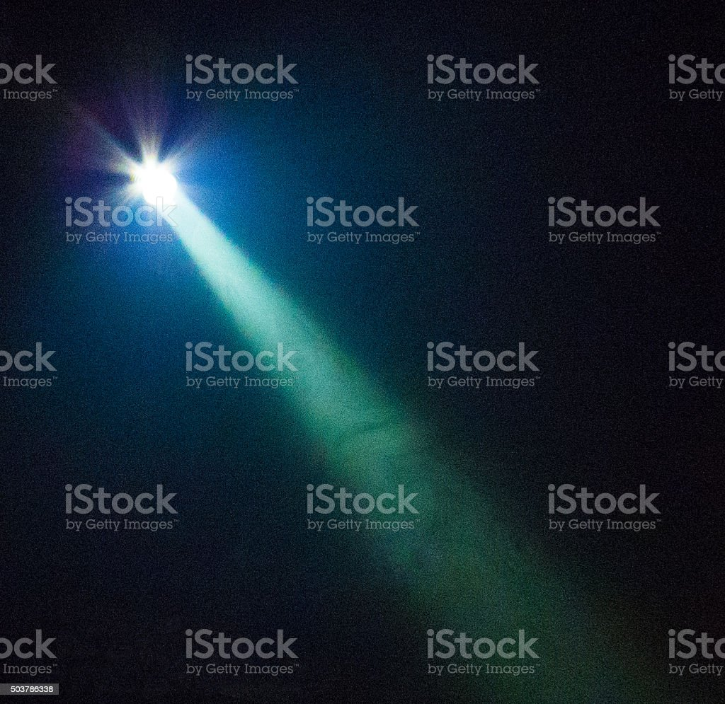 Bright Lightt Beam stock photo