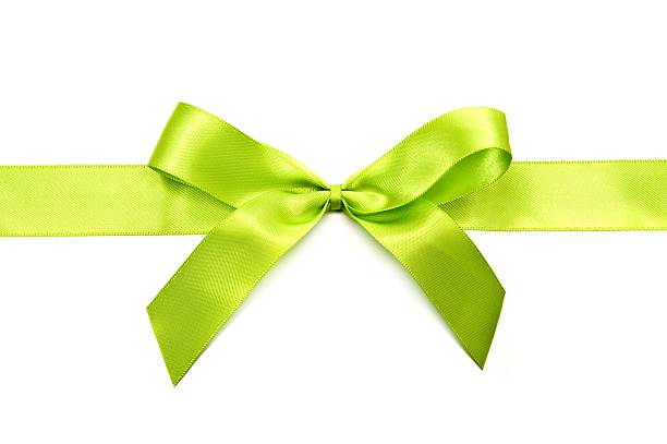 A bright lime green now for wrapping presents