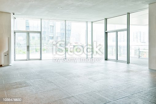 1035478670 istock photo Bright lobby in morden office building 1035476632