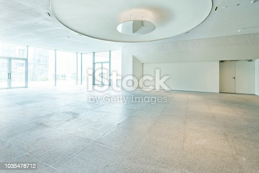 1035478670 istock photo Bright lobby in morden office building 1035478712