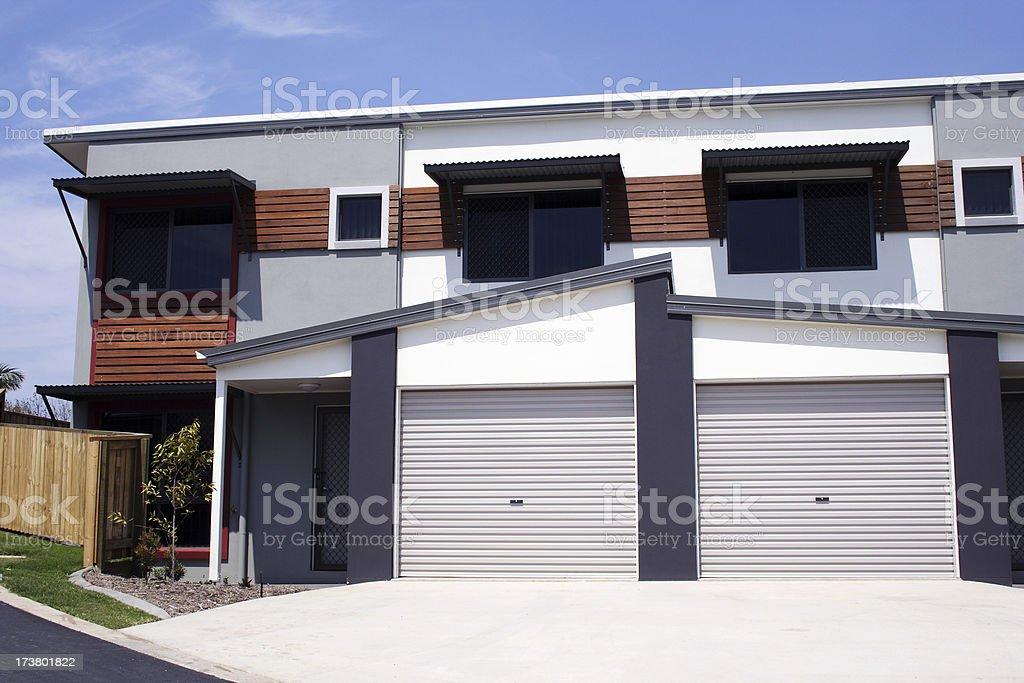 bright modern housing royalty-free stock photo