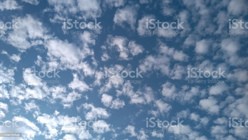 Bright morning sky