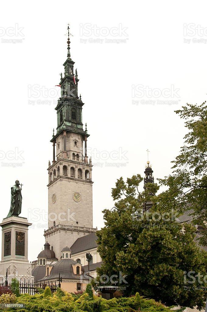 Bright Mount (Jasna Gora) monastery, Czestochowa, Poland stock photo