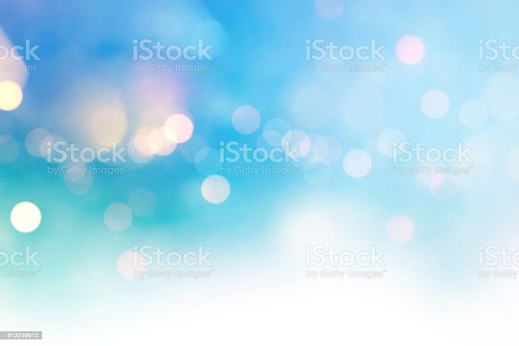 Luminoso multicolore alta chiave bokeh sfondo a pois - foto stock