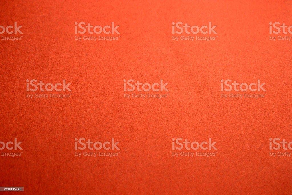Bright neon Orange craft paper stock photo