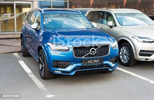 istock Bright new Volvo XC90 603315568