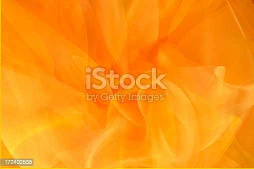 istock Bright Orange and Gold Swirls 172402535