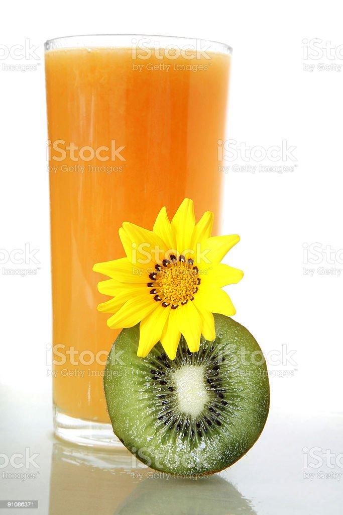 Bright Orange Juice royalty-free stock photo