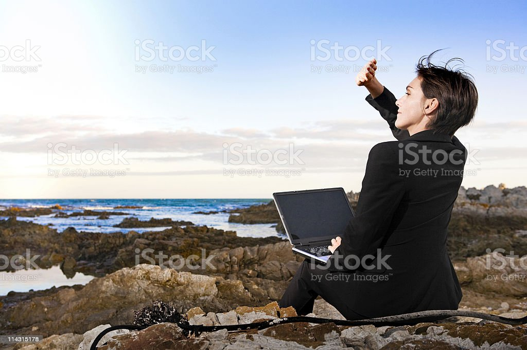Bright outlook royalty-free stock photo