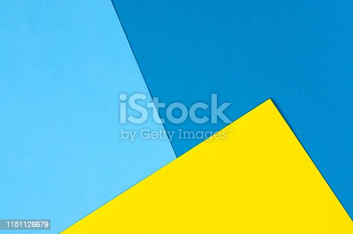 istock Bright paper background of several colors. 1151126679
