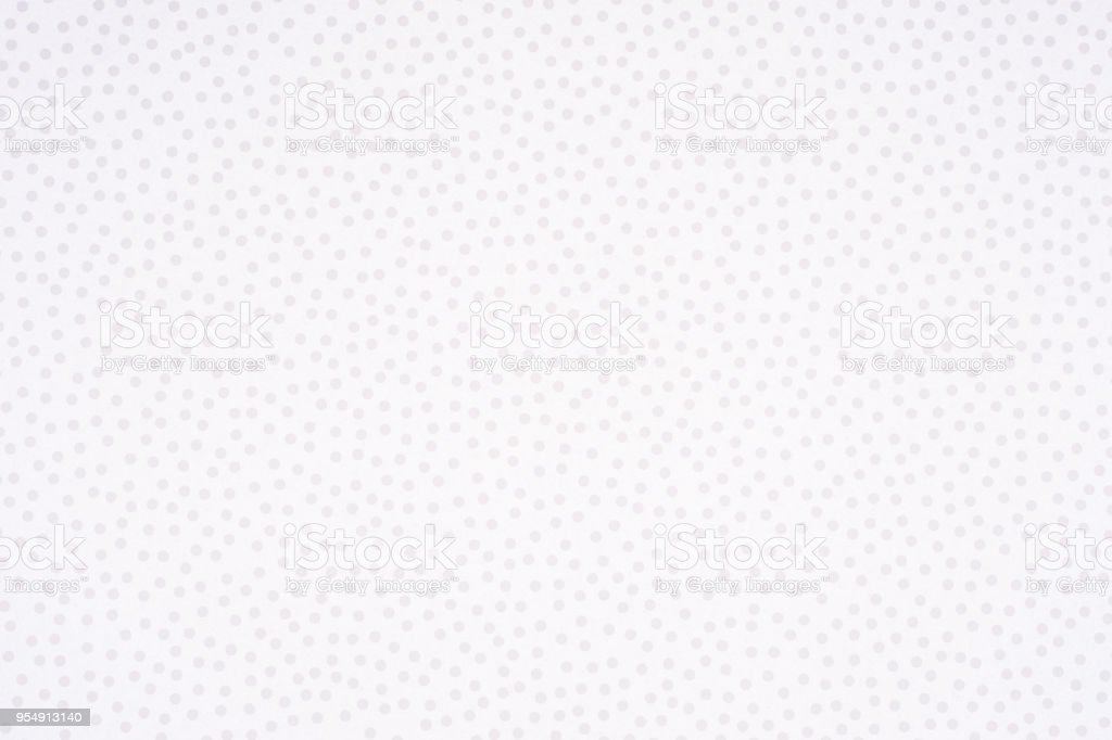 Bright paper with white spots and dots texture background. stock photo