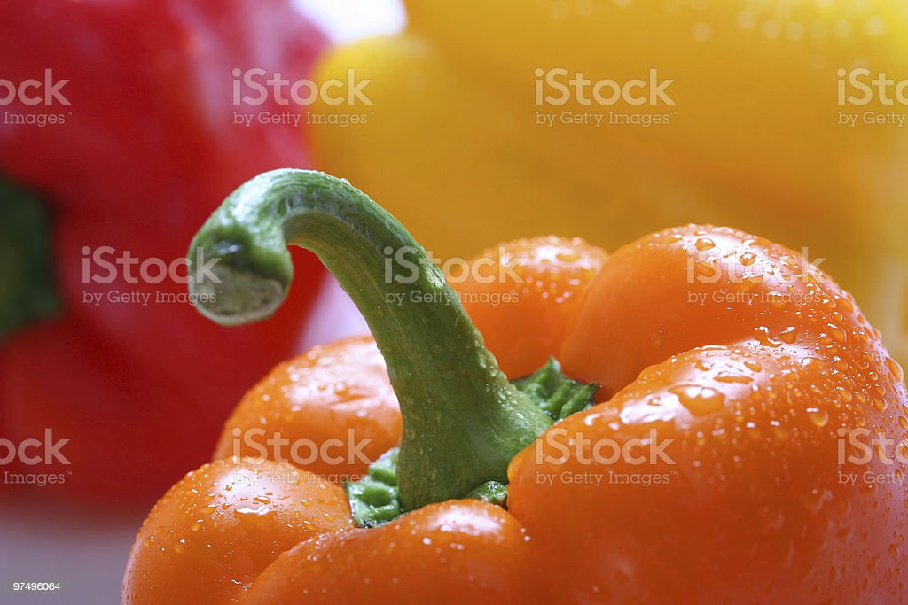 bright pepper royalty-free stock photo