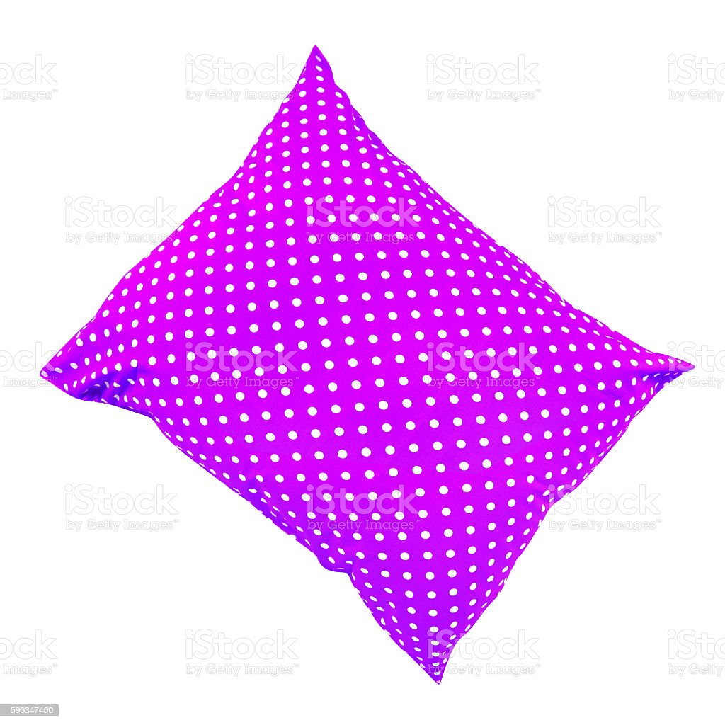 bright purple pillow royalty-free stock photo