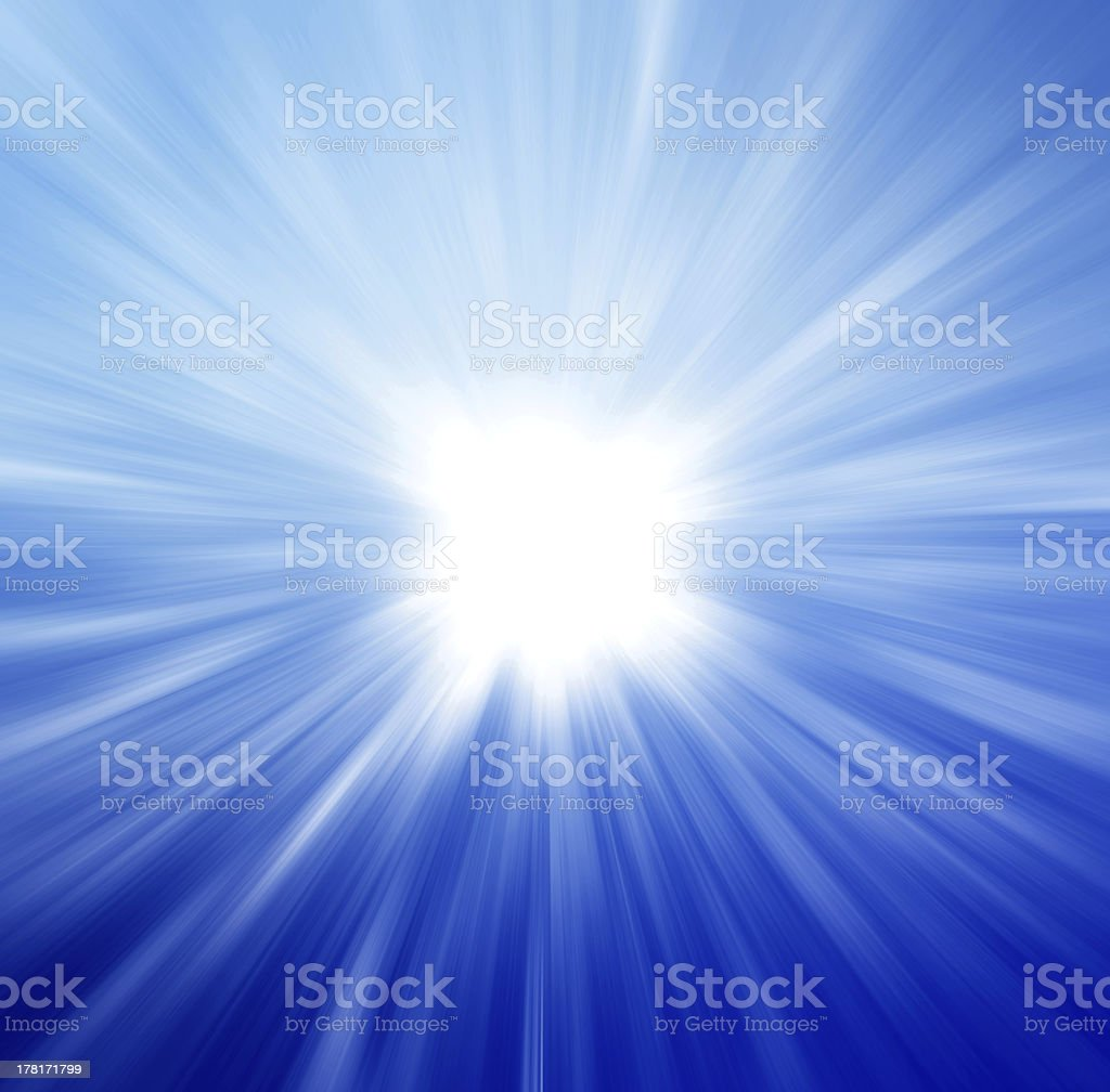Bright radial abstract background  royalty-free stock photo