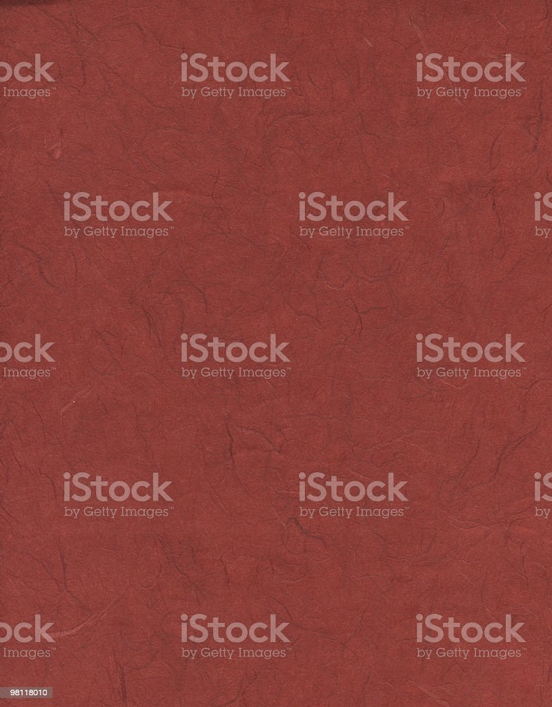 Bright Red Fiber Texture Paper royalty-free stock photo