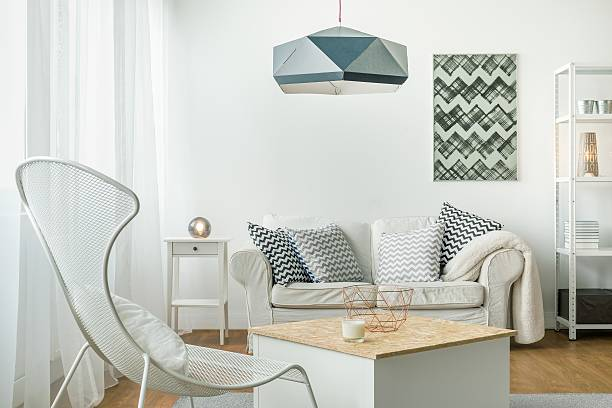 Bright room arrangement Idea for simple bright living room arrangement bachelor stock pictures, royalty-free photos & images