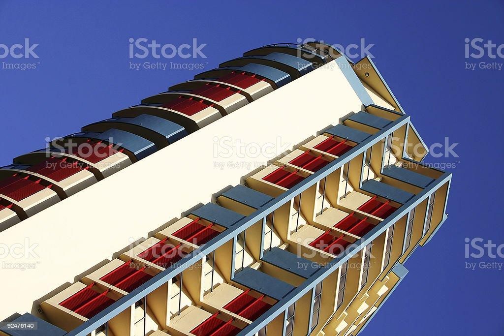 Bright Skyscraper royalty-free stock photo