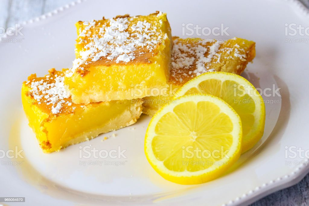 Bright slices and lemon royalty-free stock photo