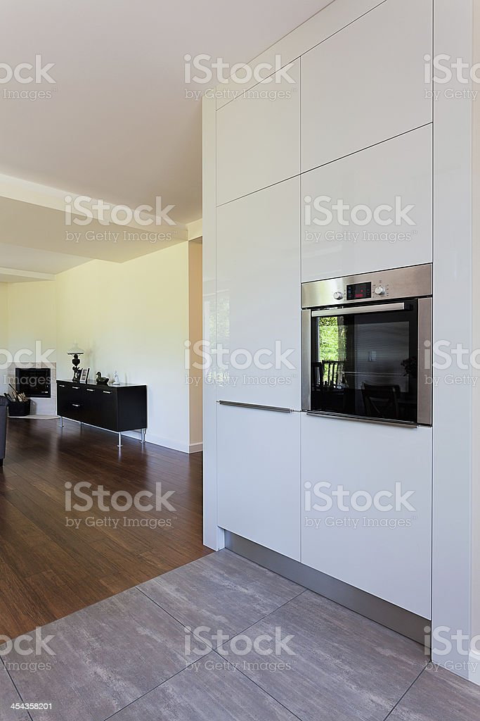 Bright space - oven royalty-free stock photo