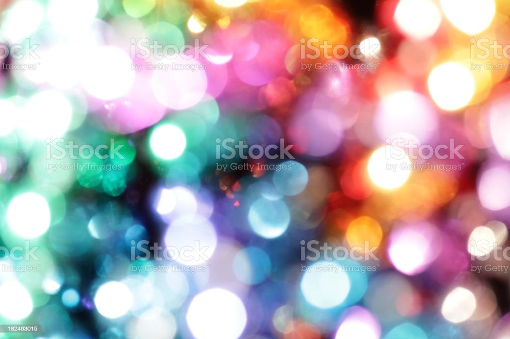 Bright sparkle lights stock photo
