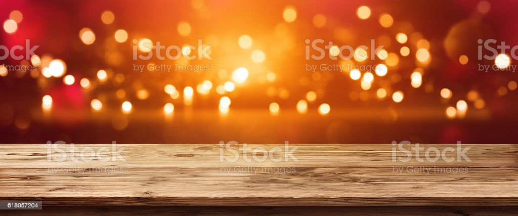 Bright sparkling panorama stock photo