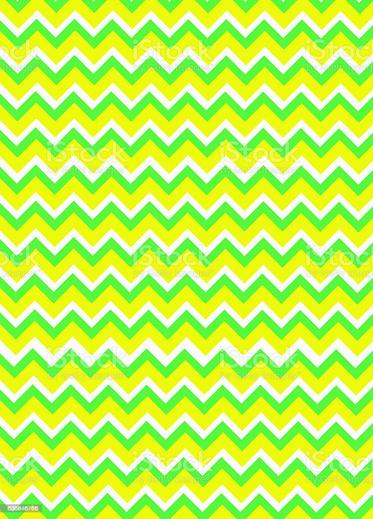 Bright spring colored chevron background stock photo