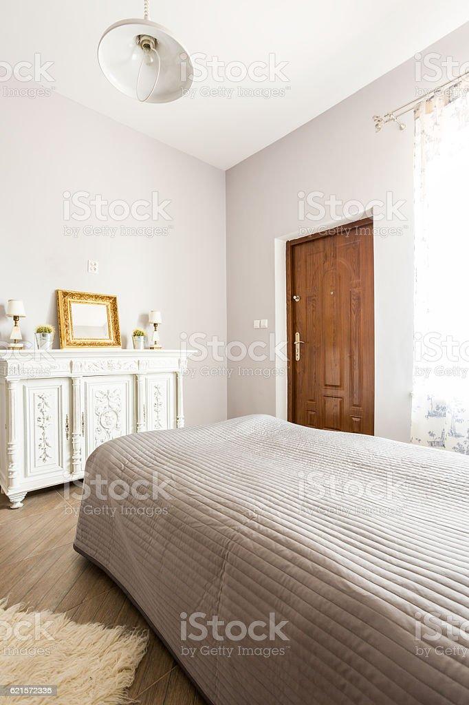 Élégante et lumineuse chambre photo libre de droits