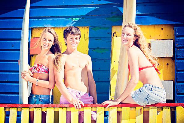 bright summer stock photo