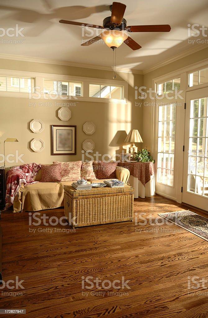 Bright Sunroom royalty-free stock photo