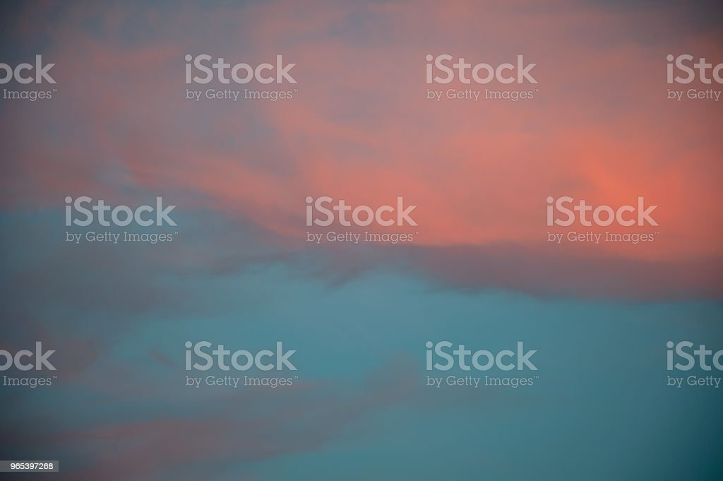Bright sunset sky royalty-free stock photo