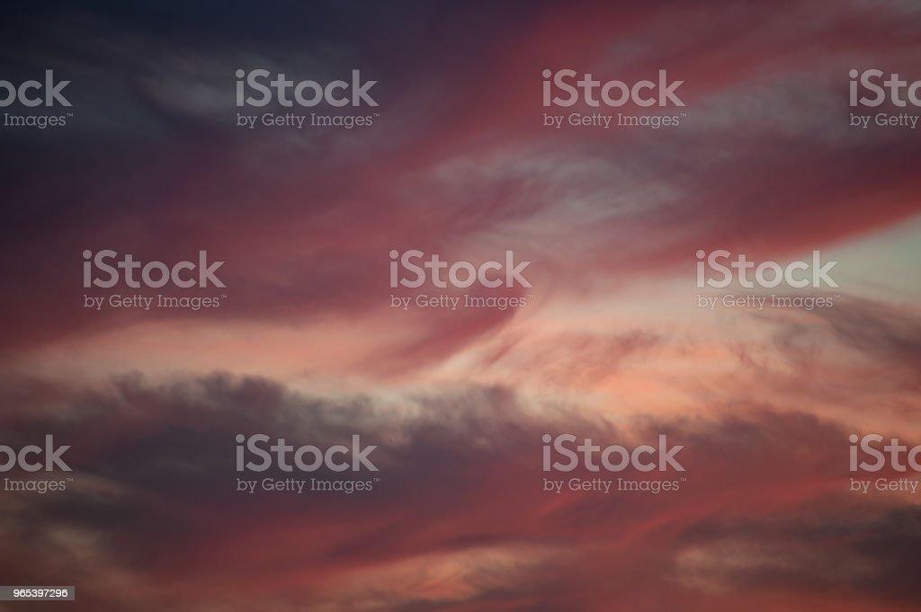 Bright sunset sky zbiór zdjęć royalty-free