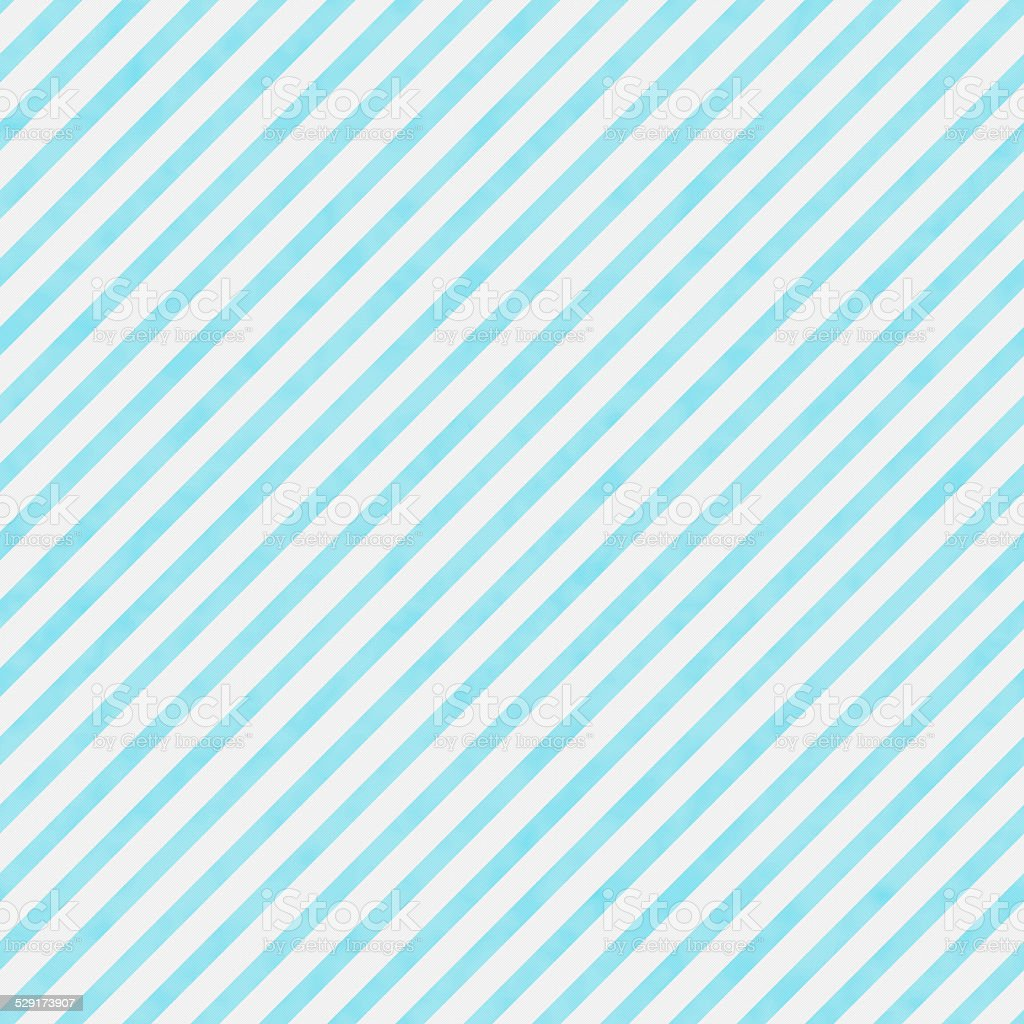 Bright Teal and White Striped Pattern Repeat Background stock photo