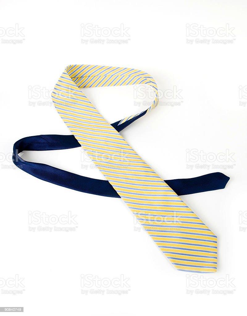 Bright tie royalty-free stock photo