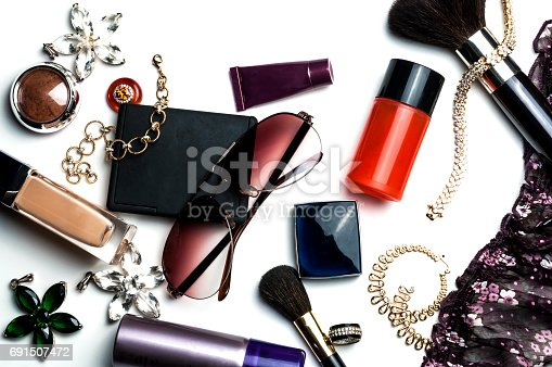 istock bright trendy accessories for women 691507472