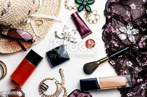 istock bright trendy accessories for women 691507572