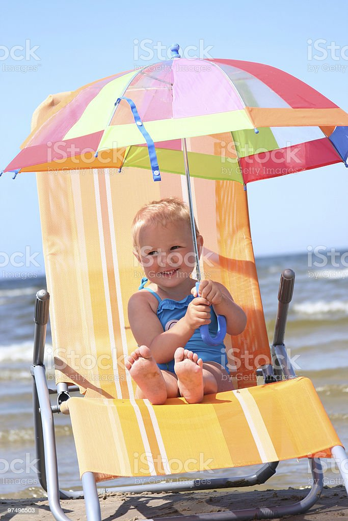 bright umbrella royalty-free stock photo