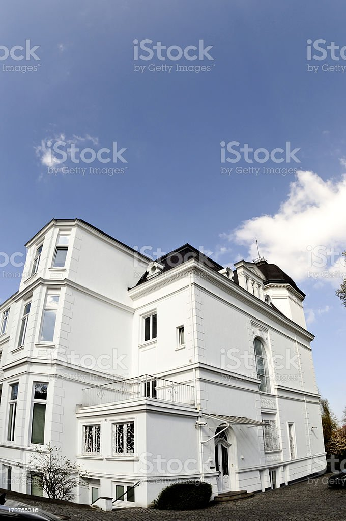 bright white home royalty-free stock photo
