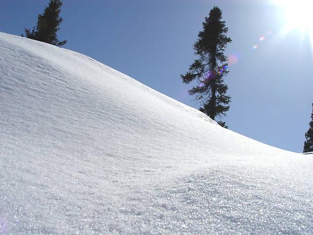 Bright Winter Landscape stock photo