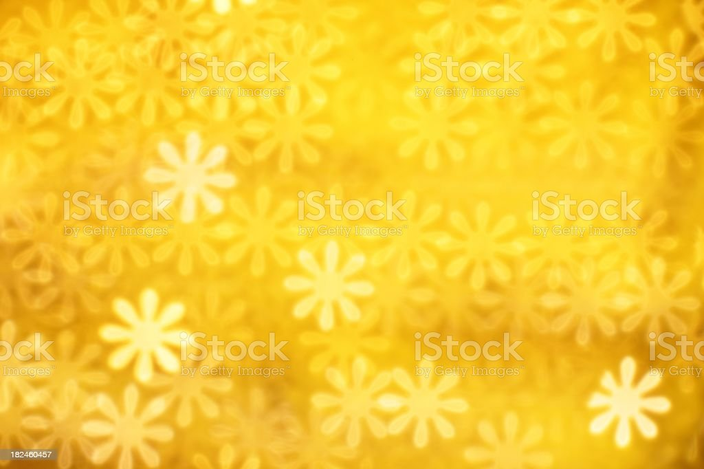 Bright yellow floral background royalty-free stock photo
