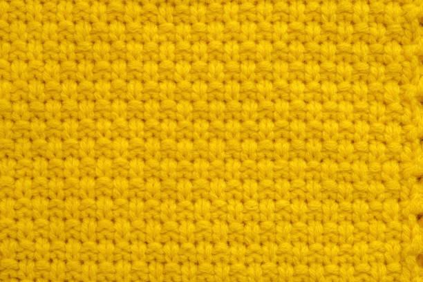 Hellgelbe Pullover Textur – Foto